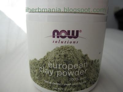 European Clay Powder Iherb Arcilla Verde