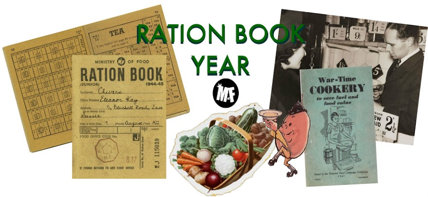 Ration Book Year