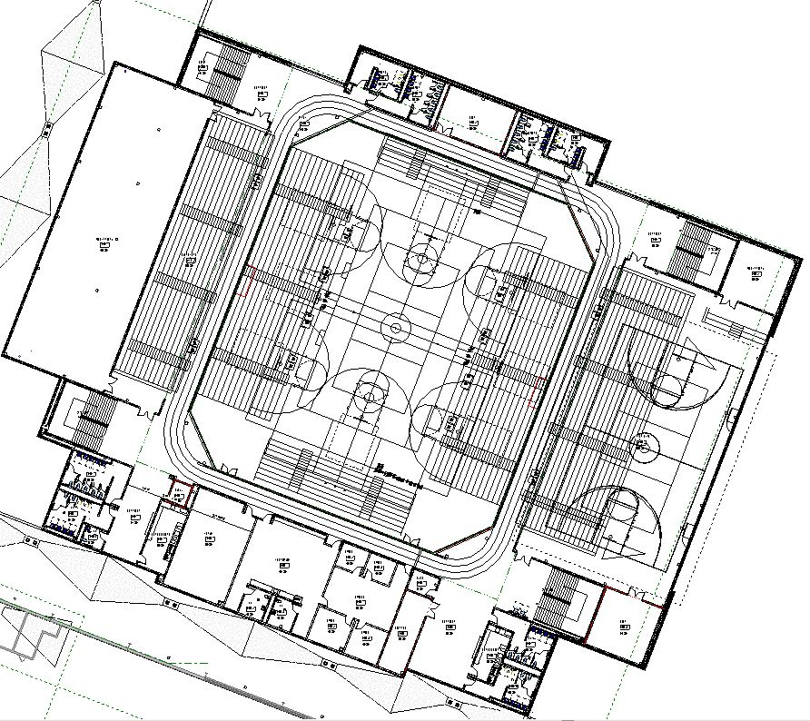 Lake central high school room concepts gymnasium for Basketball gym floor plan