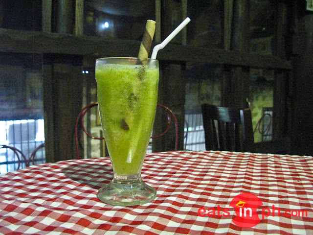 Kamias Shake from Historic Camalig Restaurant