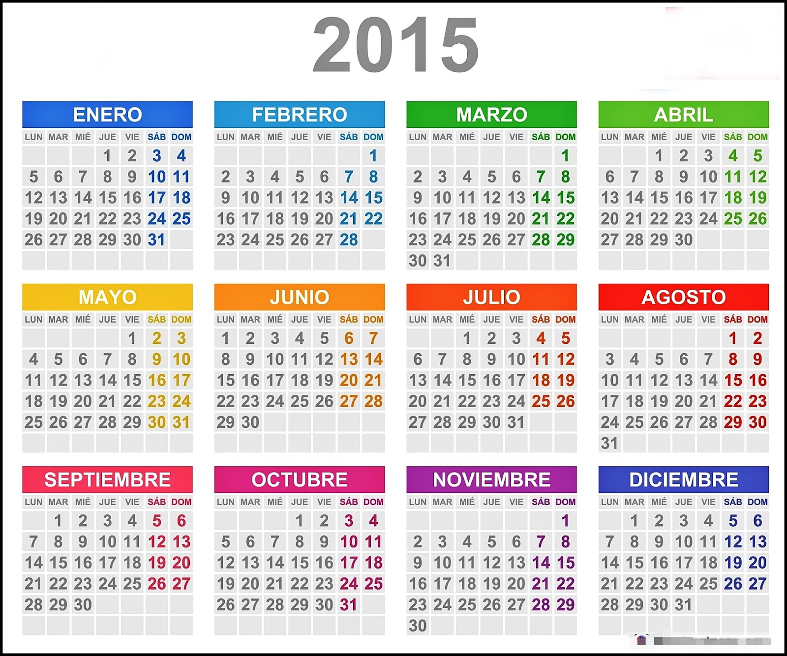 calendario anual 2015 - Etame.mibawa.co