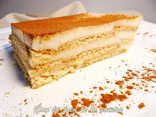Tarta De Galletas, Queso Y Cuajada