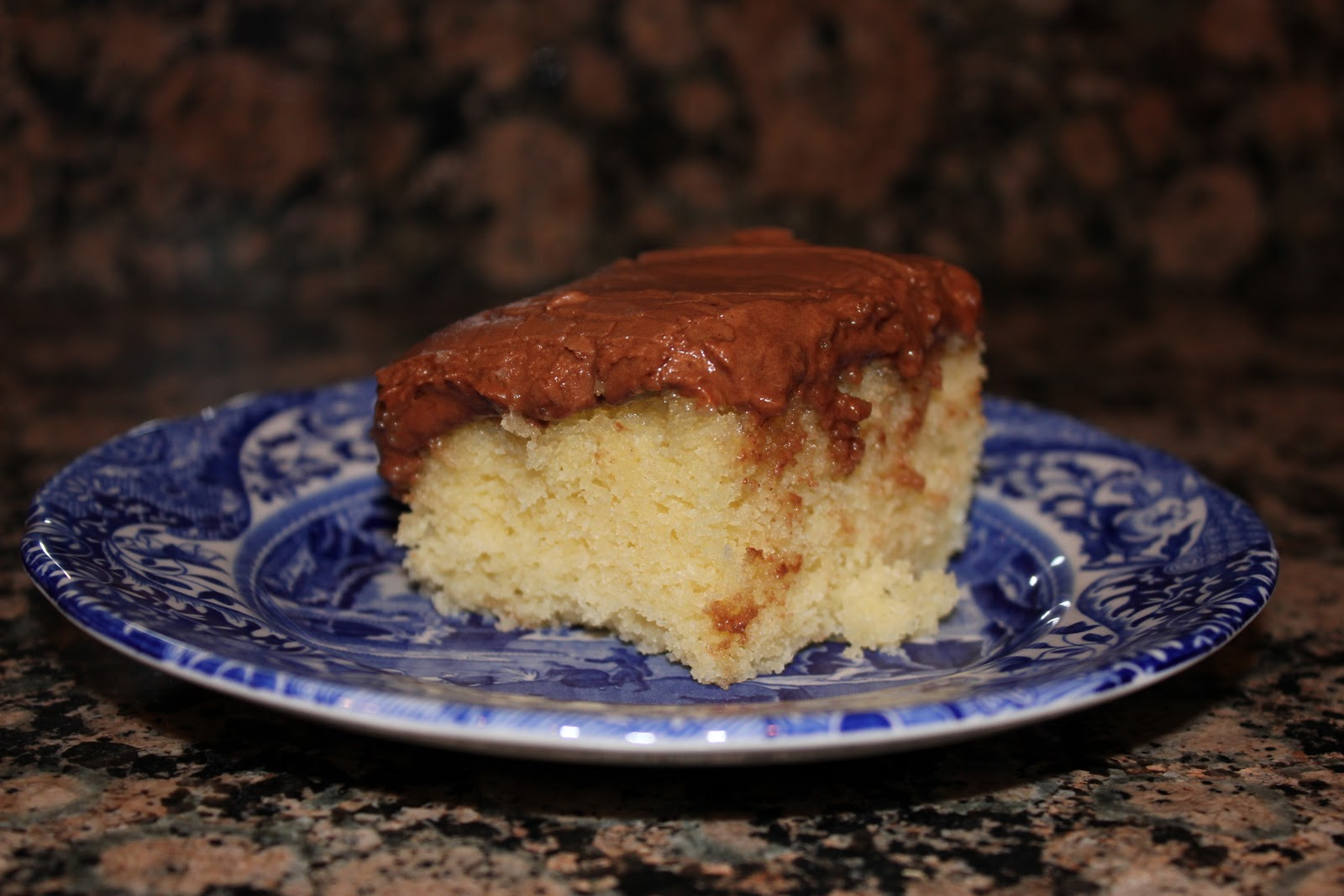 Basic Yellow Cake with Chocolate Frosting – Dallas Duo Bakes