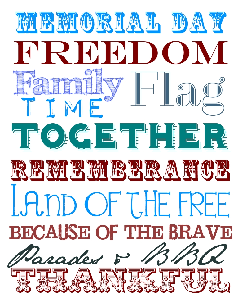 memorial day free clip art