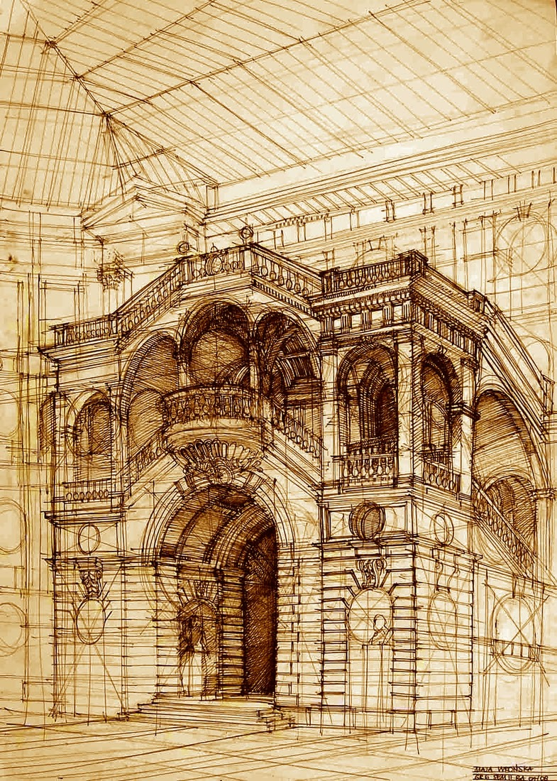 07-Maja-Wrońska-Architectural-Paintings-and-Drawing-Sketces-www-designstack-co