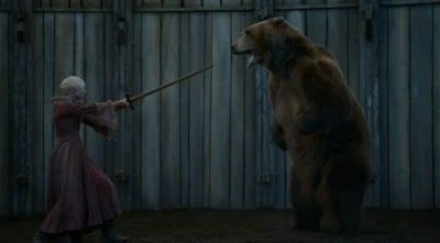 El oso y la doncella Brienne - Juego de tronos en los siete reinos