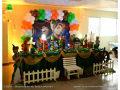 Peter Pan - mesa decorativa para festa de aniversário infantil de meninos ou de meninas.
