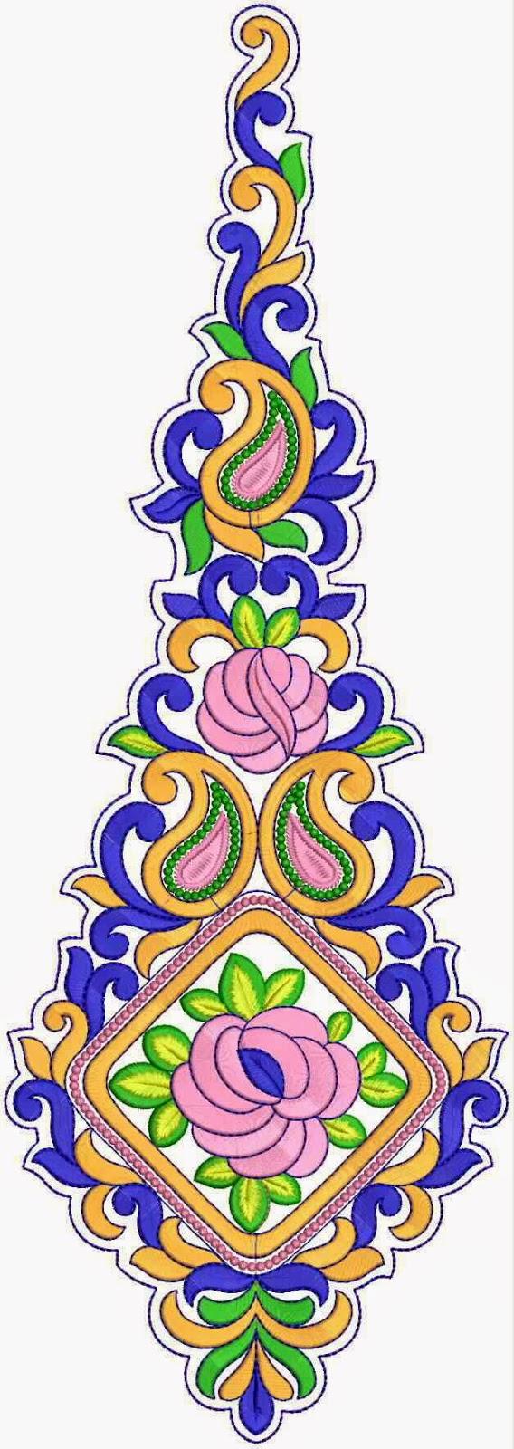 veelkleurige ornamente Quilt