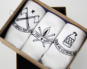 Handkerchiefs set of three for men