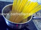 Paste cu ton spaghete preparare reteta