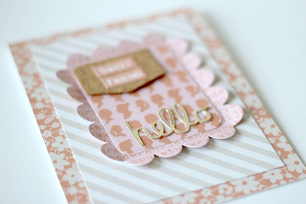 Amy Tsuruta Chickaniddy Twirly Girly card close-up