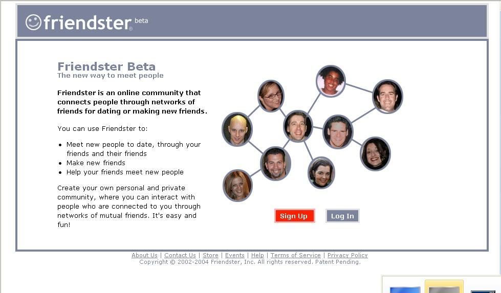 Friendster Beta 2004