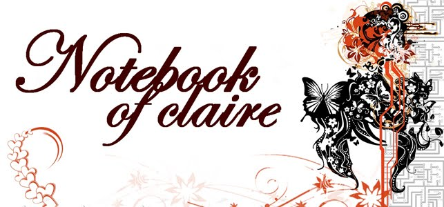 Notebook of Claire