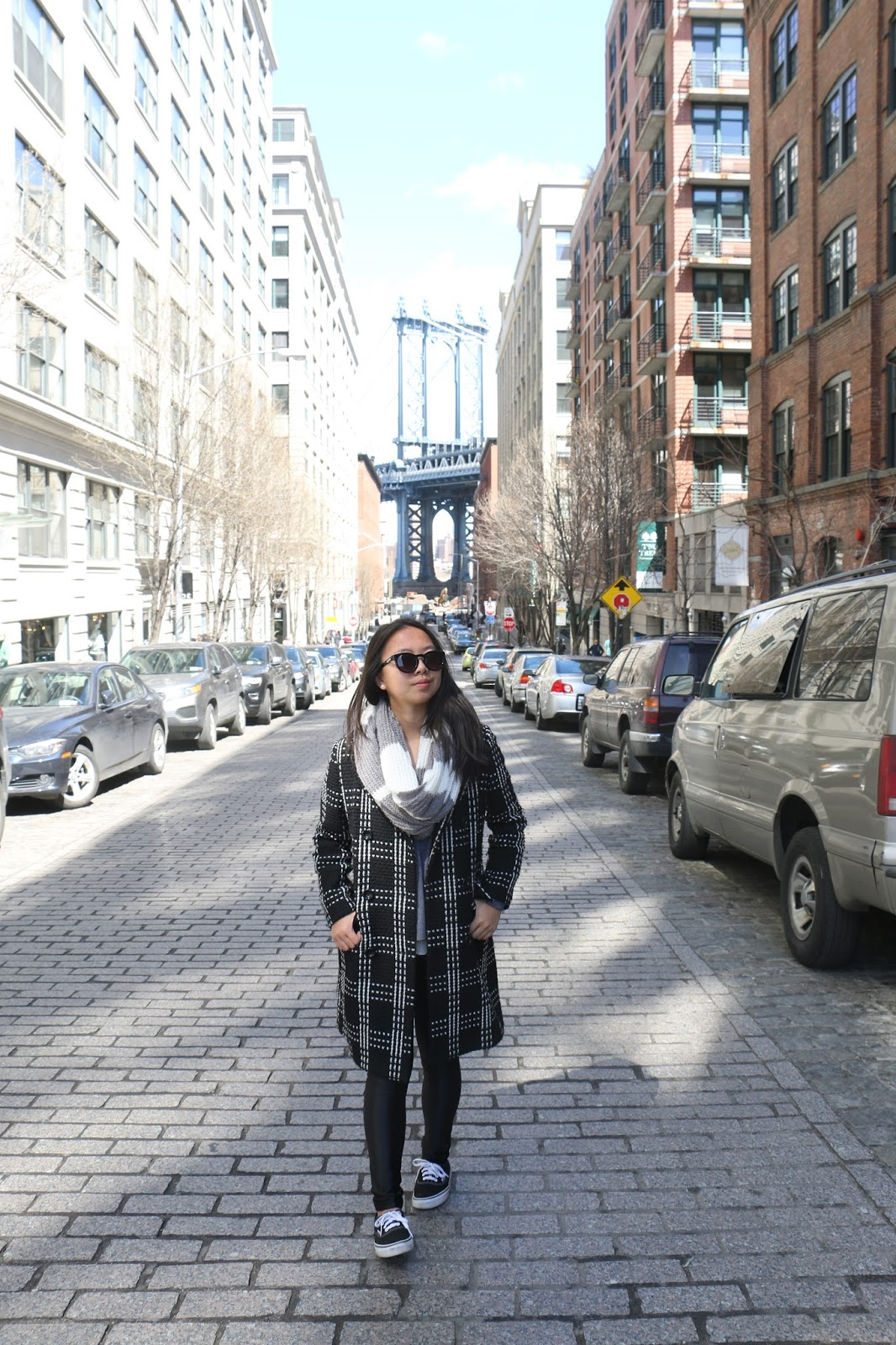 DUMBO, Brooklyn, travel, new york city, outfit