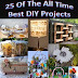 25 Of The All Time Best DIY Projects