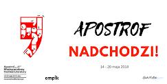APOSTROF. MIĘDZYNARODOWY FESTIWAL LITERATURY!