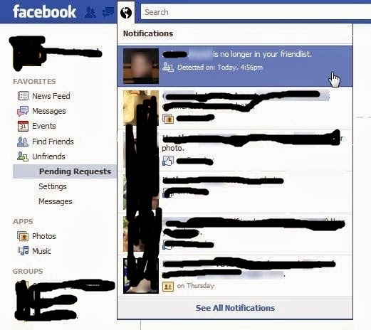 how to know whos unfriended you
