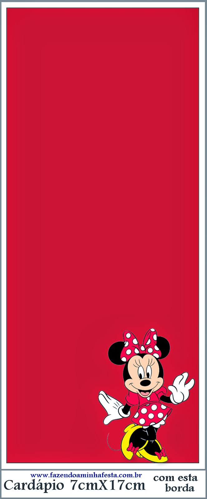 Minnie red black yellow and polka dots free party printables oh