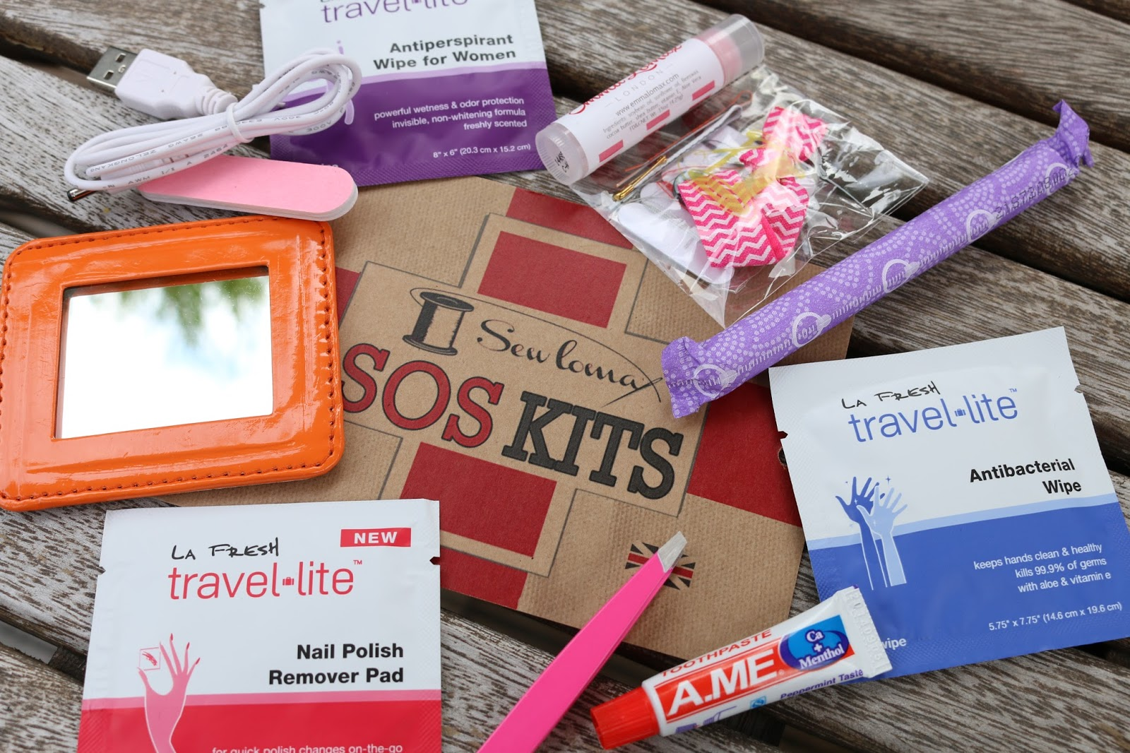 SOS Travel Kit from Emma Lomax