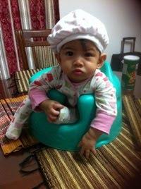 Eryna @ 10-month (6.8kg)