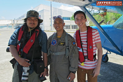 Roy Morales, Instructor Pilot Dens Resuallo, Subic Airport, Naval Aviator Training Squadron NATS, Naval Air Group, Philippine Navy, Britten-Norman Islander