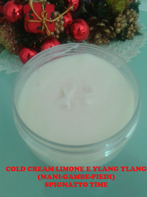 cold cream ricetta, cold cream video tutorial, cold cream mani