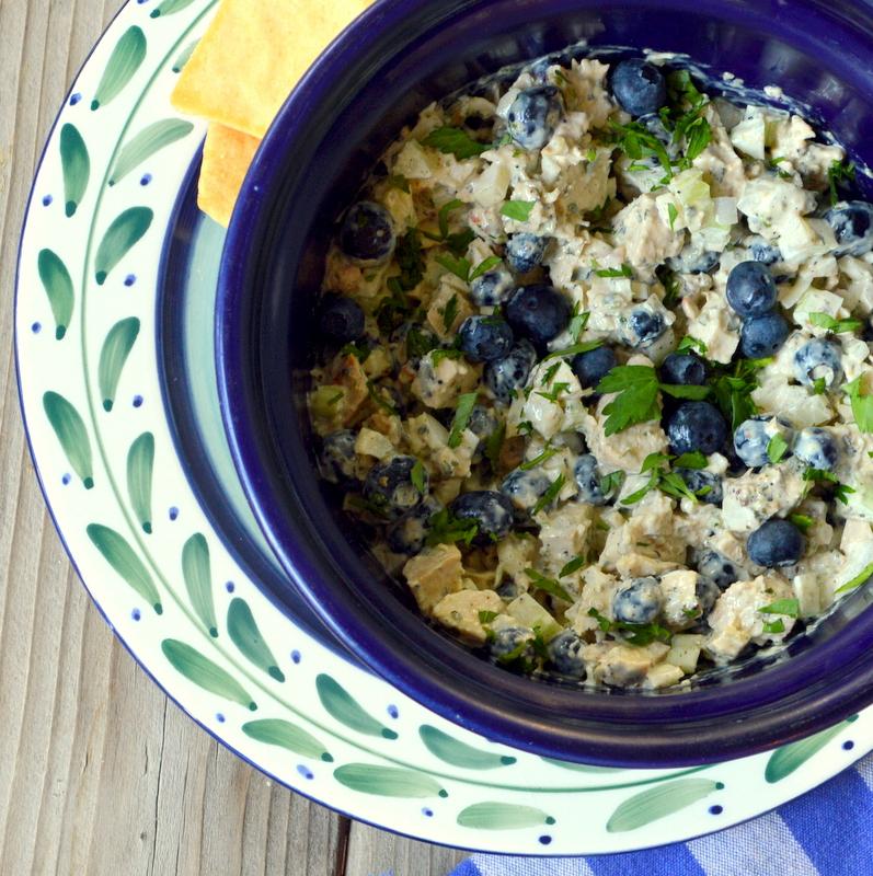 blueberry chicken pesto salad serves 2 2 leftover grilled chicken ...