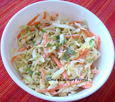 yogurt cabbage carrot coleslaw