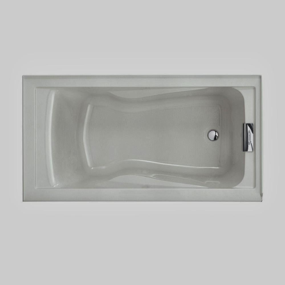 Bathtubs: American Standard 2422V.002.020 Evolution Bathtub with ...