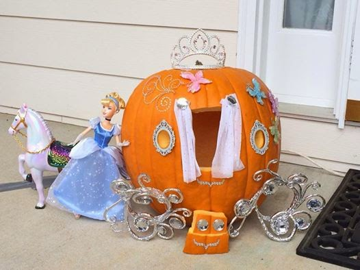 Cinderella Pumpkin Carving Jack-o-Lantern Carriage