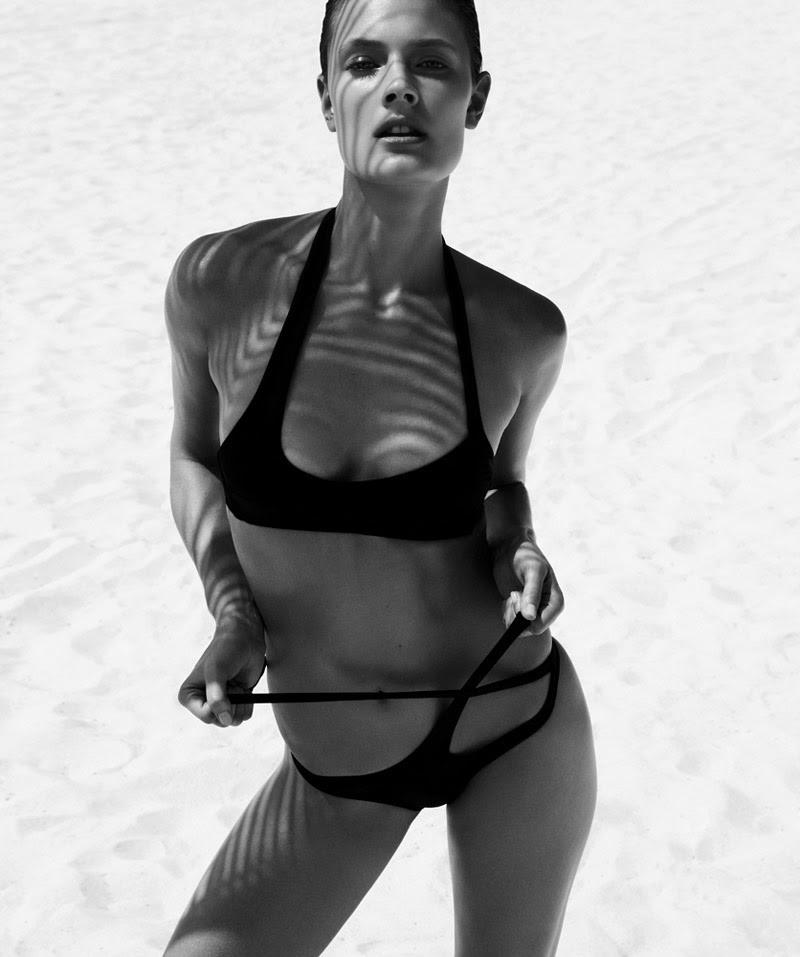 In the Mood for Summer with Constance Jablonski in Harper's Bazaar 2015