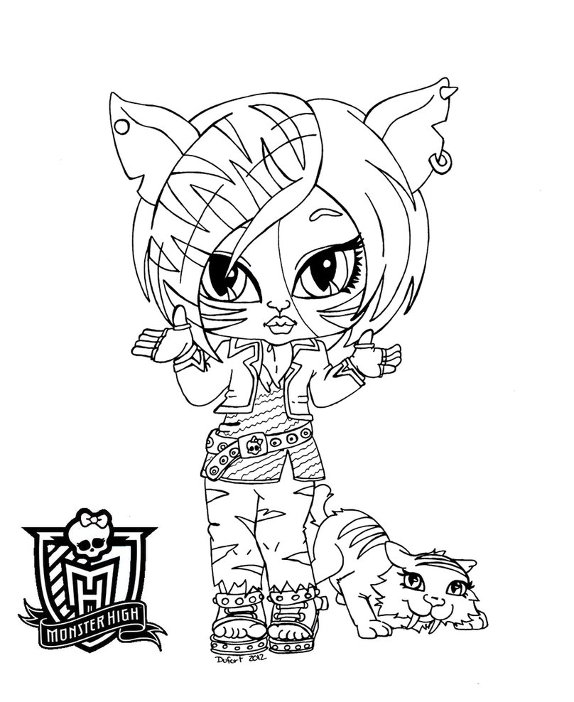 Monster High.: Monster high dibujos.