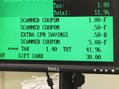 Shopping, Saving, BiLo, Coinstar