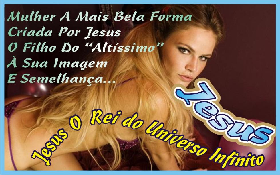 A Beleza Feminina Obra Prima do Senhor Yeshua Jesus