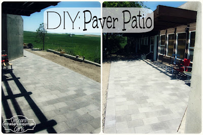 Orchard Girls - Paver Patio DIY