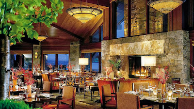 Four Seasons Jackson Hole dining room