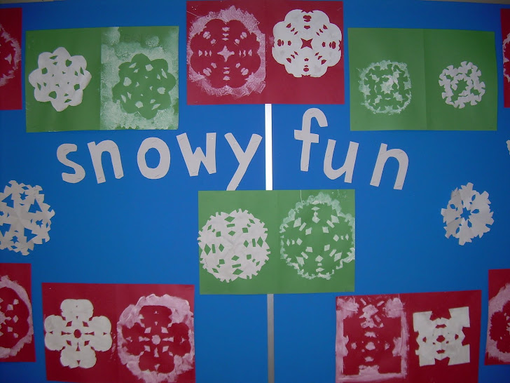 A new winter bulletin board