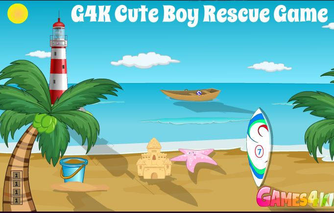 G4K Cute Boy Rescue Escap…