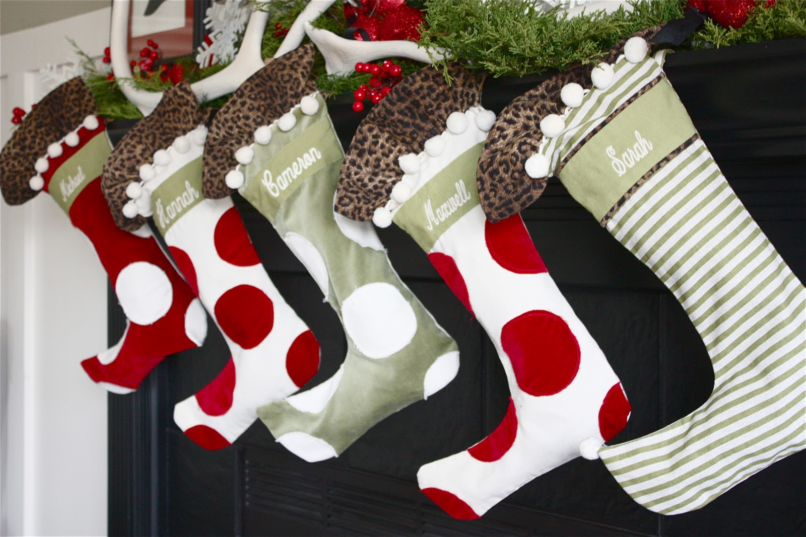 The Yellow Cape Cod Holiday Home Series Art Of Hanging Stockings