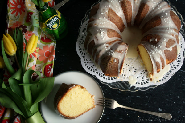 girlichef: Lemon Vanilla Bundt Cake