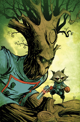 Groot Character Review (With Rocket Raccoon)