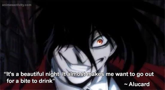 Top 10 psycopath anime characters Alucard