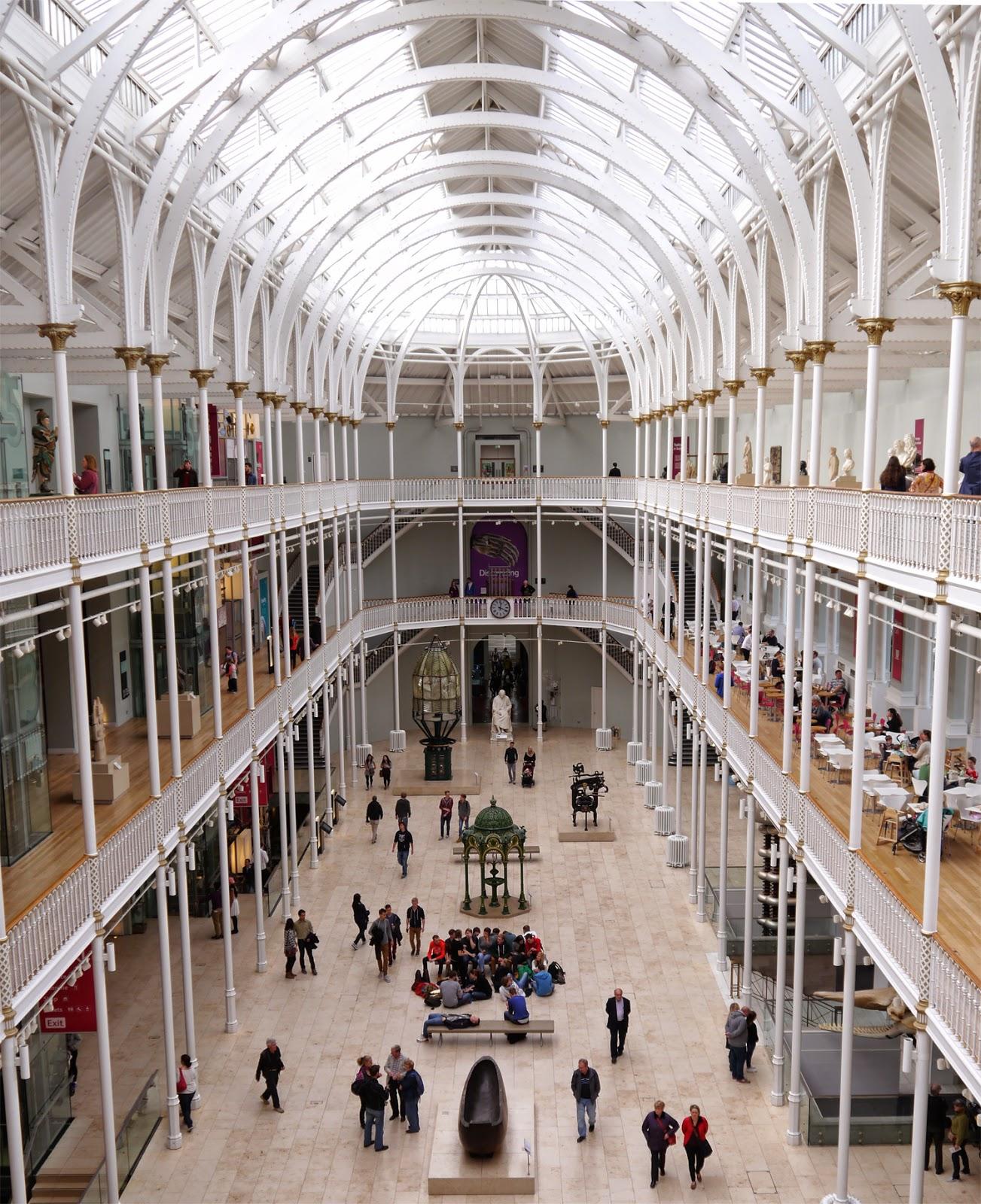 National Museum of Scotland, interior, museum, lighy, bright, scottish bloggers, edinburgh, edinburgh bloggers