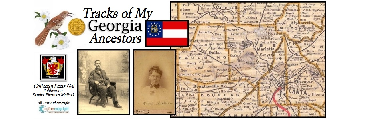 Tracks of My Georgia Ancestors