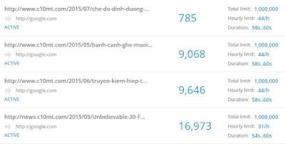 Tăng 500 đến 10000 lượt xem thật một ngày nhờ HitLeap