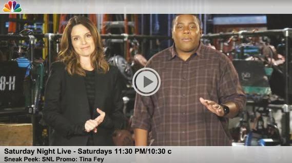 Tina Fey's Emmy Nip Slip Spoofed In SNL Promo Uncensored [Video]