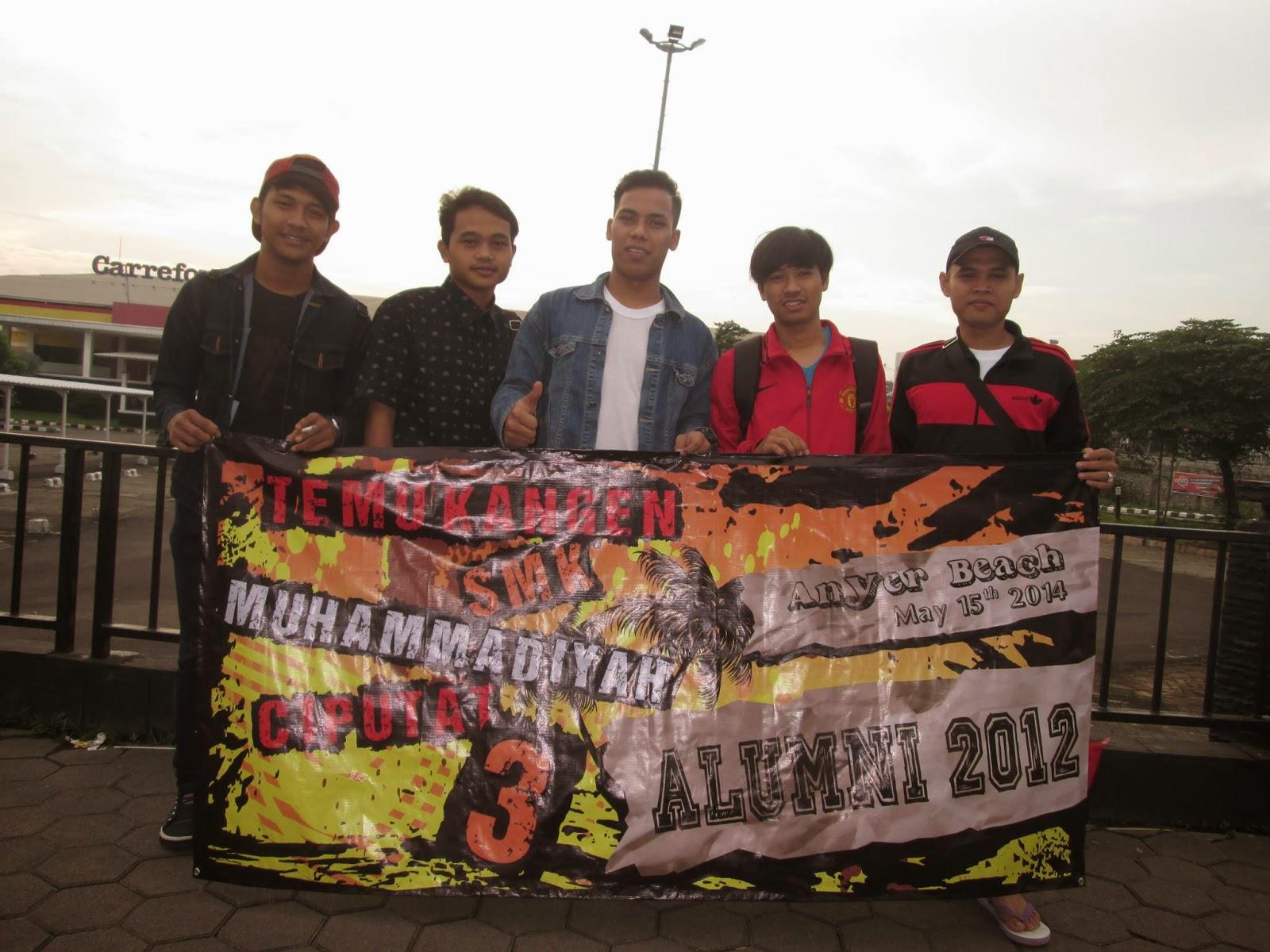 tour reuni SMK MUHAMMADIYAH 3 TANGSEL carefour ciputat