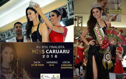 Em noite de muito glamour Eslovênia Marques é eleita Miss Caruaru 2016