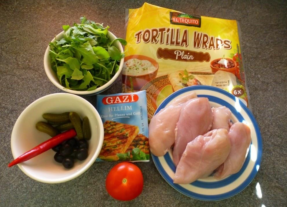 Marciochakucharzy Tortilla Z Kurczakiem I Halloumi