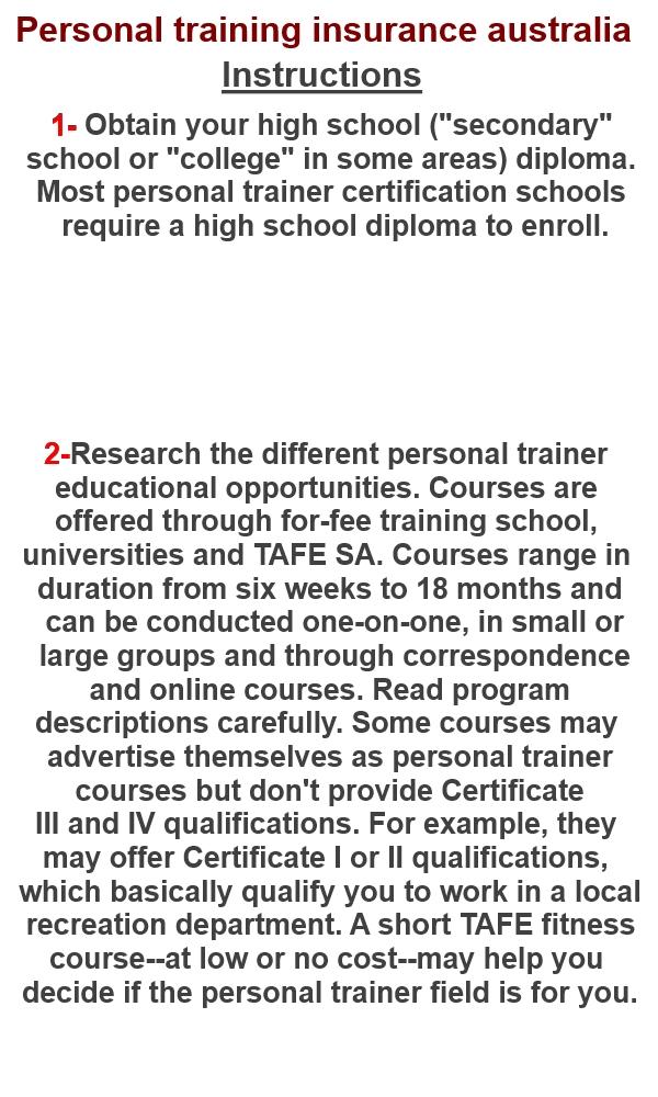 1 Very Better Of Personal Training Insurance Australia Uk Acsm